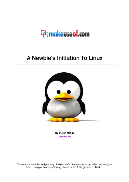 Newbie Getting Started GuideTo Linux